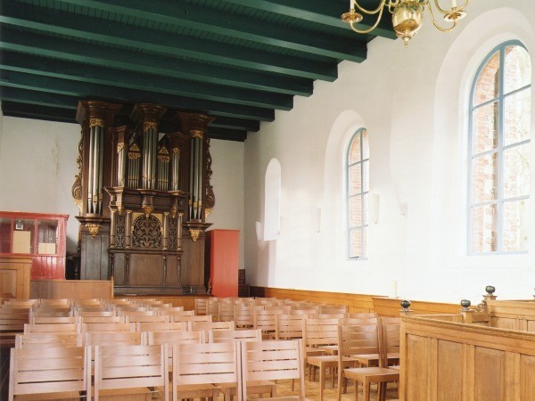 Marum int richting orgel